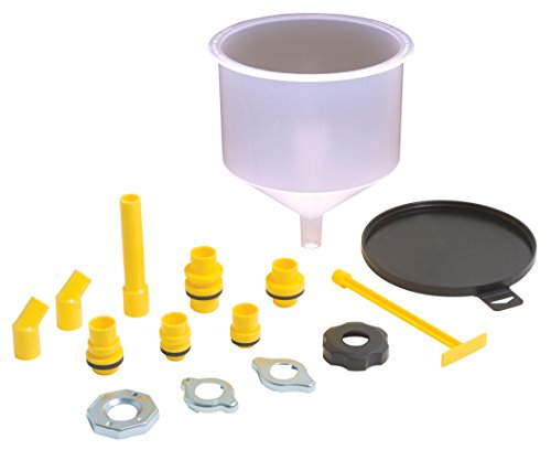 lisle funnels Lisle 24680 Spill-Free Funnel, Standard Adapters