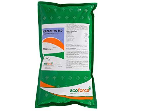 CULTIVERS Force-Nitro de 1 kg. Fertilizante - Abono de Aminoácidos + Hierro. Producto de Alta concentración con Registro ecológico. Plantas más vigorosas y Negras (exentas de carencias nutrici