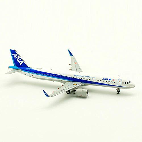FJCY 20CM Airbus A321 Modellflugzeug im Maßstab 1: 400 aus japanischer Legierung