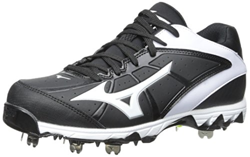 Mizuno Used 9 Spike Swift 4 Size Womens 5 Softball Cleat Black/White