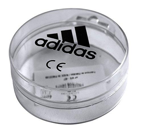 adidas Senior Adult Boxing Martial Arts Rugby Karate Taekwondo Double Gum Shield Mouth Guard, Clear