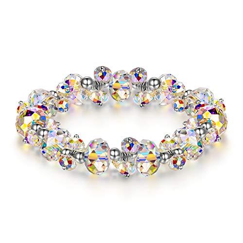 Susan Y muttertagsgeschenke Geschenk für Frauen Armband Damen Swarovski Armband schmuck Damen 18 30 geburtstaggeschenkgeschenk Jahrestag Geschenk für sie Frauen Freundin Mama