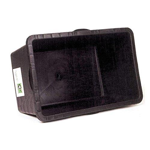 Roland 3091502700 Plastic badkuip voor volwassenen, uniseks, zwart, één maat