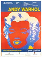 ポスター アンディ ウォーホル Un Mito Americano 額装品 アルミ製ベーシックフレーム(ホワイト)