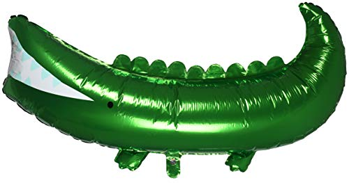 Meri Meri Crocodile Mylar Balloon