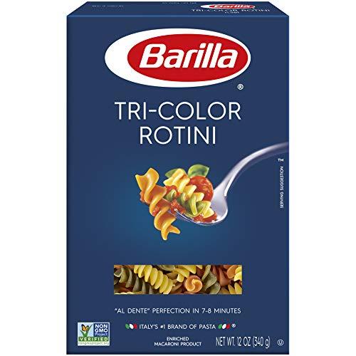 Barilla Pasta, Tri-Color Rotini, 12 oz