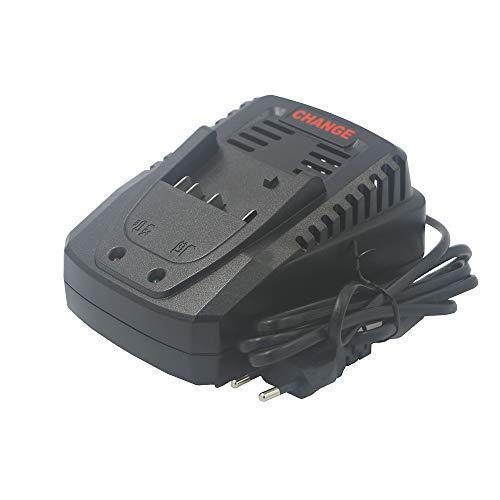 eshopcity Cargador de Batería Compatible con Bosch 14.4V-18V Acumulador Bat609g Bat618 Bat618g Bat609 Cargador Al1860cv Al1814cv Al1820cv (Enchufe de La Ue)