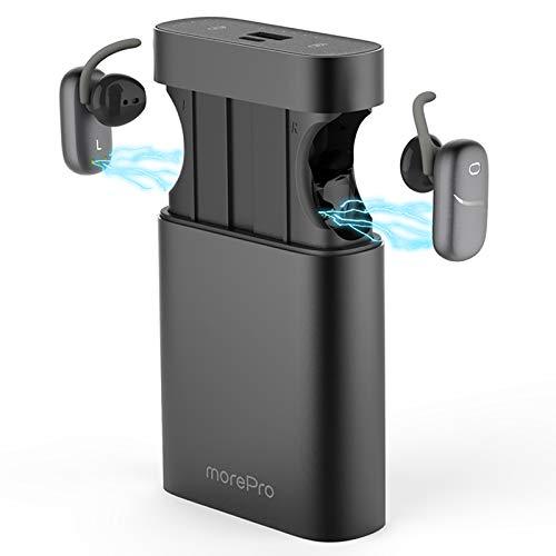 41Ir9QDjI6L - Bluetooth Wireless Earbuds,Sport Headphones Wireless HiFi Sound True Wireless Ear Buds Waterproof Dual Built-in Mic Earphones 5.0 Auto Pairing with Charging Case