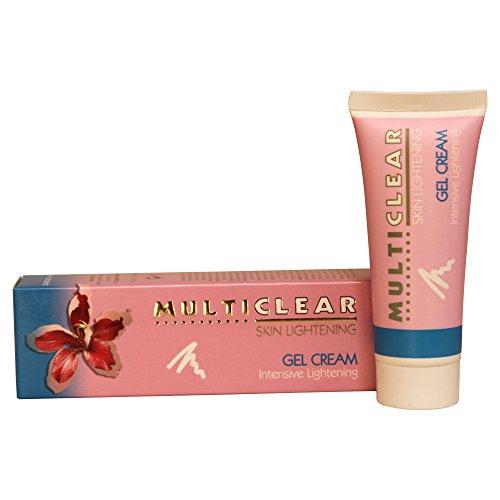 Gel Crema Aclarador Intensivo MULTICLEAR – 40ML. Crema antimanchas Ayuda a combatir las manchas oscuras de la piel y evita la aparición de nuevas manchas. Especial Pieles Mixtas y Grasas
