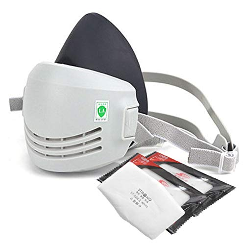 Respirator Mask - Smoke Paint Sanding Particulate Dust Drywall Construction Sawdust Silica Mask Respirator