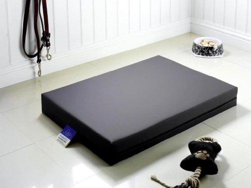 Medizinisches Hundebett PULMACELL® safe, 50x70x8 cm, anthrazit
