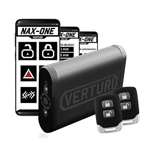 Verturi Profesional Antirrobo Alarma de la Motocicleta/Sensores Dobles + 2X Controles Remotos de Cifrado + Aplicación para Android/Alarma 12v Universal para Moto y Scooter