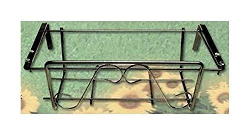 Filtex FR50N Jardinière réglable plastifiée, Argent, Unique