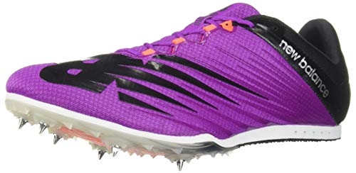 New Balance Women's Middle Distance 500 V6 Running Shoe, Voltage Violet/Black, 9 B US