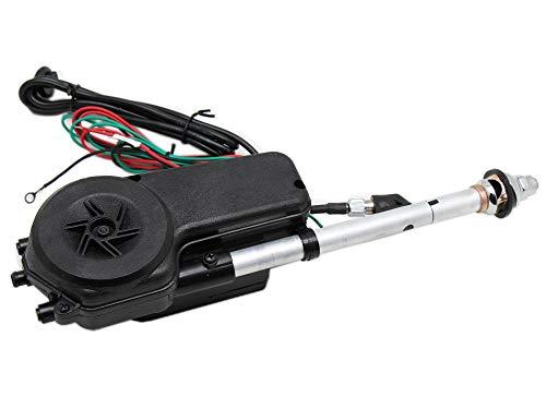 Red Wolf - Antena eléctrica para coche (12 V, AM, radio FM,...