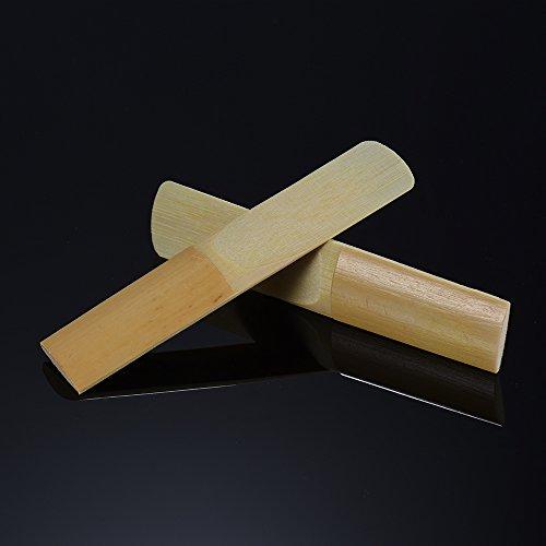 Bedler B-Tenorsaxophon Sax Reeds Stärke 2,0 für Anfänger, 10 Stück/Karton