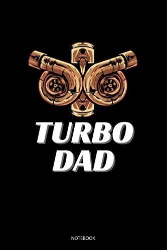 Turbo Dad: Liniertes Notizbuch A5 - Turbo Mechanik Notizheft I Turbolader Boosted Tuning Kompressor Mechaniker Geschenk