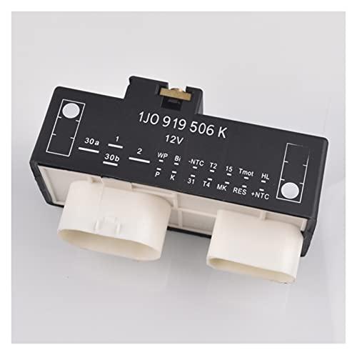 Stubble Radiador de relevo Control de Ventilador Ajuste para VW Beetle Golf MK4 Bora Polo Fit para Audi A3 TT 1J0919506K