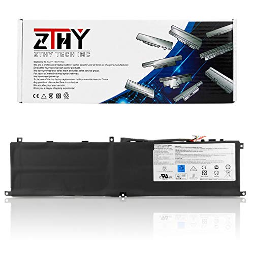 ZTHY New BTY-M6L Laptop Battery Replacement for MSI GS65 Stealth Thin 8RF 8RE 9RE PS42 8RB P65 Creator 8RD 8RE MS-16Q2 MS-16Q3 PS63 Modern 8RC GS75 8SG Series 15.2V 5380mAh 80.25Wh