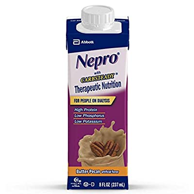 Nepro Therapeutic Nutrition Shake with 19 grams of protein, Nutrition for people on Dialysis