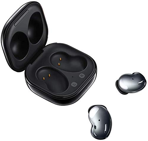 Samsung Galaxy Buds Live, kabellose Bluetooth-Kopfhörer mit Noise Cancelling (ANC), komfortable Passform, ausdauernder Akku, Wireless Kopfhörer in Mystic Black