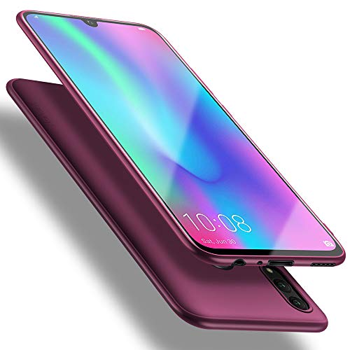 X-level für Honor 10 Lite Hülle, [Guardian Serie] Soft Flex Silikon Premium TPU Echtes Telefongefühl Handyhülle Schutzhülle Kompatibel mit Honor 10 Lite Case Cover - Weinrot
