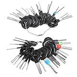Herramientas para Extraer el Cable del Coche Terminales Herramientas de Eliminación Auto Car Wire Connector Terminal Pin Extractores Reparación Removedor Herramientas Clave Set Pin Extractor 38 Pcs