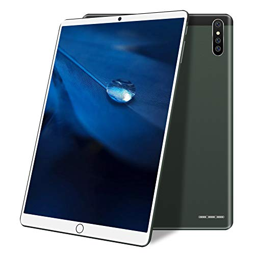 TGHY Tableta Android 10 Pulgadas, 3G Cellular + WiFi, 2GB RAM 32 GB ROM, 128GB Expandible, Procesador Quad-Core, 1280x800 IPS HD Display, Cámara 8MP, GPS, Batería 5000mAh,Verde