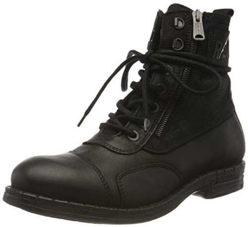 Replay Herren DEPTFORD Mode-Stiefel, 003 Black, 44 EU