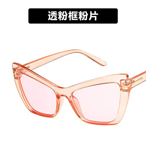 XWHKX Candy Color Cat Eye Sex Tom Ford Sunglasses Womenyellow Blue Black Pink Quay