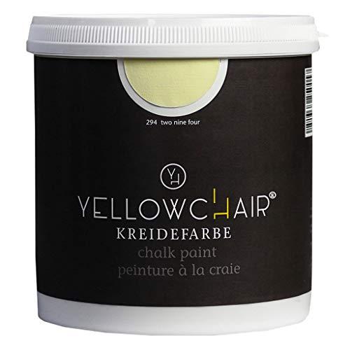 Kreidefarbe yellowchair No.294 pastellgelb ÖKO für Wände und Möbel 1 Liter