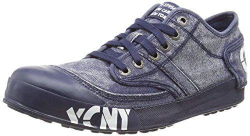 Yellow Cab Herren Ground M Sneaker, Blau (Blue), 46