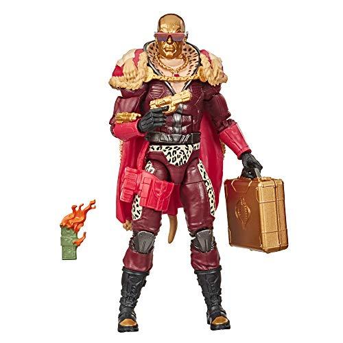 Figura G.I. Joe Classified Series Profit Director Destro - E8860 - Hasbro