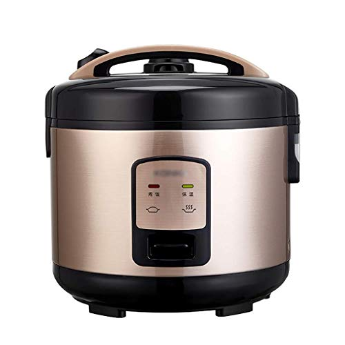 DHTOMC Cocina eléctrica Cocina de arroz, 3L / 4L, hogar, Aislamiento Inteligente, con Vapor, Olla de antaño Multifuncional, Mini Olla de Dormitorio for 3-6 Personas (Tamaño: 4L) Xping (Size : 4L)