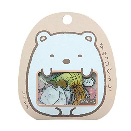 PULABO ???50X süße japanische Sticker Flakes Bag Sack Tiere Scrapbooking DIY Hot stilvoll