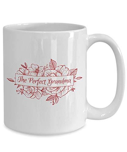 DKISEE Taza de café – The Perfect Grandma – Abuela, Nana, cumpleaños, regalo de 325 ml