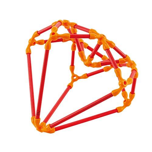 Hape-HAPE-E5567-Jeux éco Responsable en Bambou-Kit de Construction créative Jouets en Bois, E5567, Multicolore