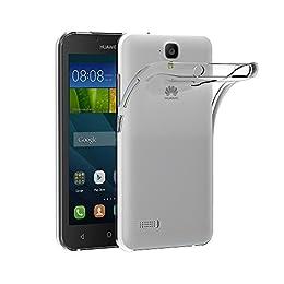 e0234095579 AICEK Funda Huawei Y5 II/Huawei Y6 II Compact, Huawei Y5 II/Huawei Y6 II  Compact Funda Transparente Gel Silicona Huawei Y5 2 Premium Carcasa para Huawei  Y5 ...