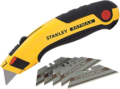 Stanley Messer Fatmax (mit 5 Carbide Klingen,) 1 Stück, 7-10-778