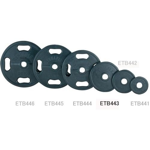 エバニュー 50φラバープレート5kg(2枚1組) ETB443