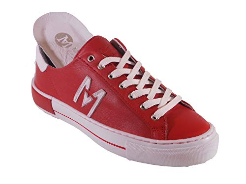 Maca Kitzbühel Sneaker, Schnürschuh, Antikleder red, 2635 (Numeric_37)