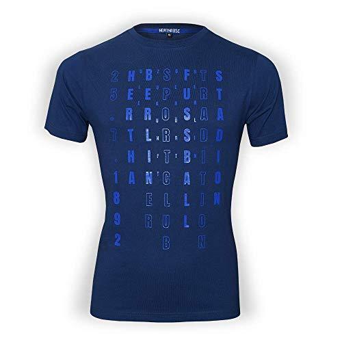 Hertha BSC T-Shirt Berliner Sportclub (Größe S bis 3XL) (XXL)
