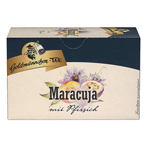Oro macho maracuyá con melocotón suave té, té,{20} costuras individualmente bolsas de té