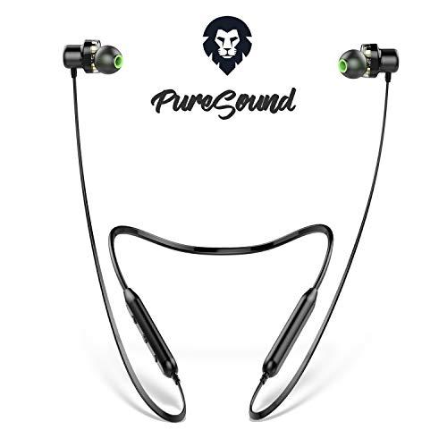 Bluetooth Kopfhörer Sport, ENCORE Pure So&, Dual Driver Kopfhörer kabellos, europäische Marke, 9 Std. Spielzeit, mit Mikrofon, wasserdicht
