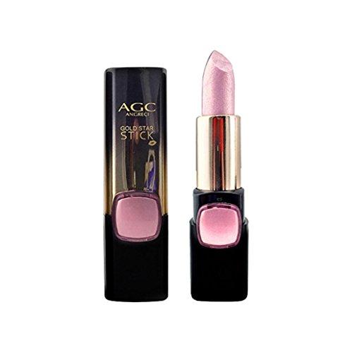 Huihong AGC 5 Farben Gold Lippenstift Befeuchten Für Eine Lange Zeit Lippe  Balsam (2#-Rosa)