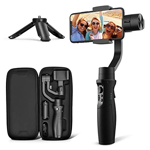 3-Axis Gimbal Stabilizer for Samsung Galaxy S20/S20 Plus/S20 Ultra