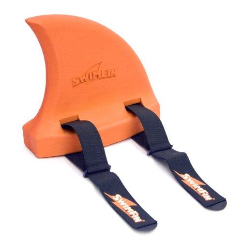Unbekannt SwimFin Kinder Die Ultimative Schwimmhilfe Award Winning 3 in 1 Lehrmittel und Lustiges Spielzeug, Orange, One Size