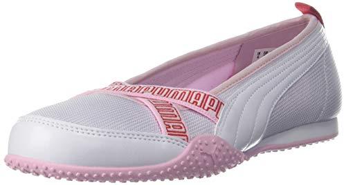PUMA Bella Ballerina Women's Shoes White-Pink Lady Sneaker-4 UK (38015601)