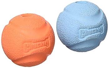 Chuckit Fetch Ball Jouet pour Chien 2 Pièces 5 cm Taille S