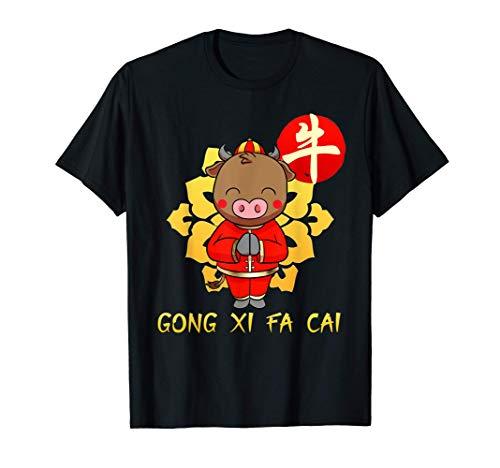 Año Nuevo Chino Disfraz 2021 Niños I Idea Del Regalo Camiseta